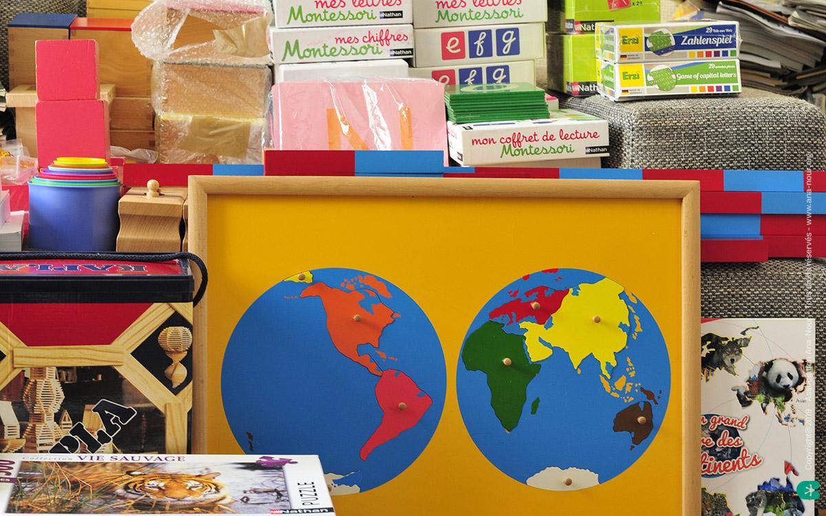 Ana-Nour : matériel pédagogique pour les maternelles du Togo et du Bénin