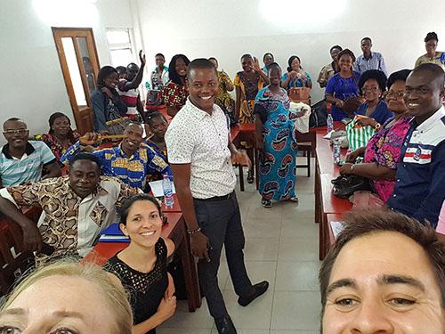 Premier module de formation d'une soixantaine d'enseignants